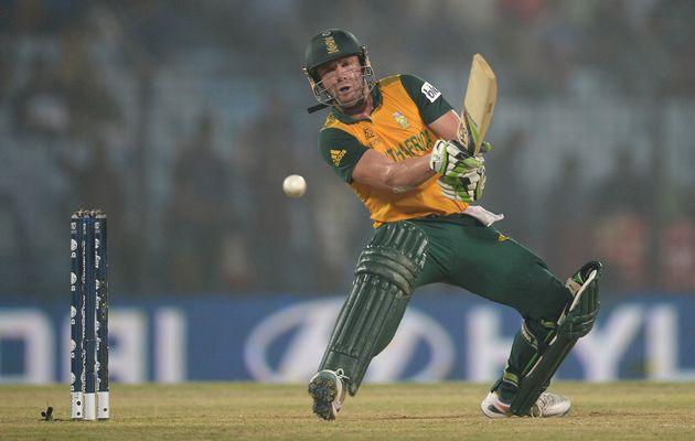 AB de Villiers 1st ODI Aus v SA