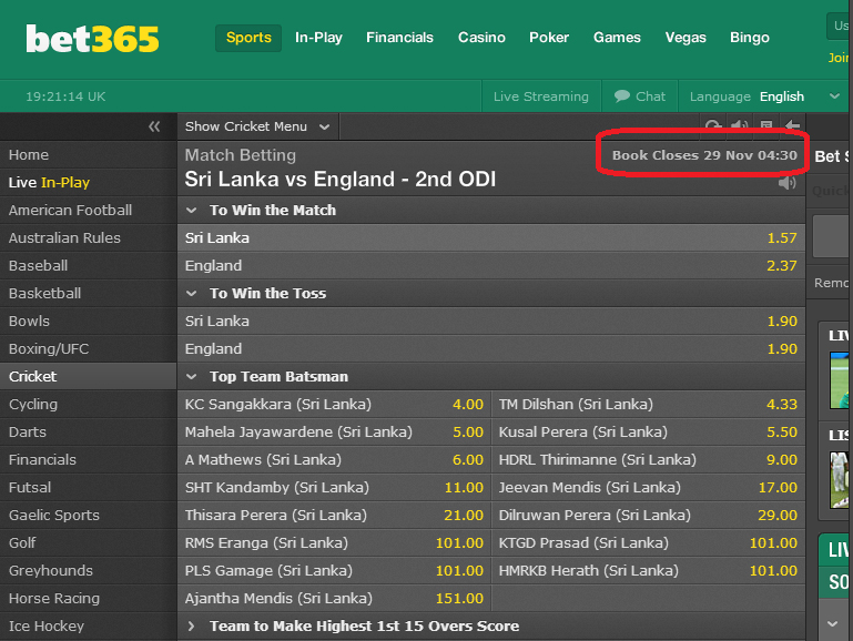 How to win money on bet365 bookies