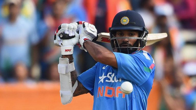 Shikhar Dhawan India v Sri Lanka 4th ODI