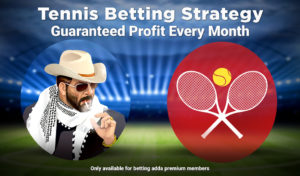 Tennis Betting Strategy is Available